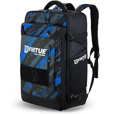 Virtue Gambler Backpack and Gear Bag Graphic Cyan