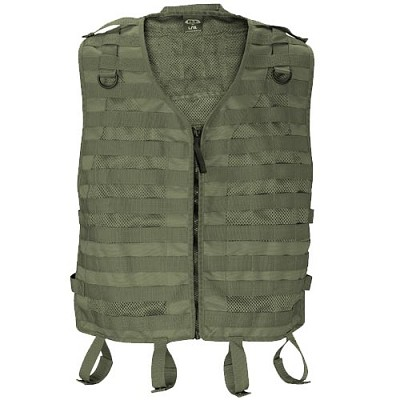 BT 08 Merc Paintball Molle Vest Olive Drab Large/XL