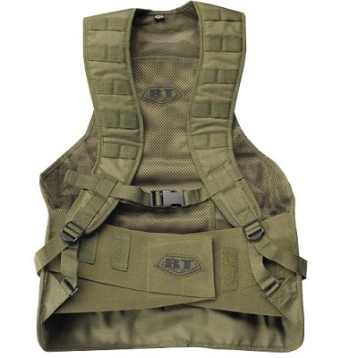 BT 08 Static Paintball Molle Vest Olive Drab Small/Medium