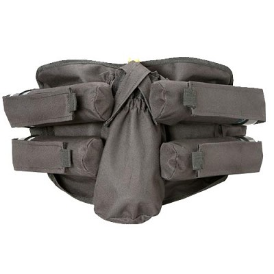 BT 08 Bandolier Paintball Pack 4+1 Black
