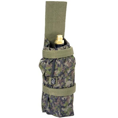 BT 08 Paintball Bottle Pouch Molle Woodland Digital Camo