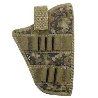 BT 08 Universal Paintball Holster Molle Woodland Digital Camo