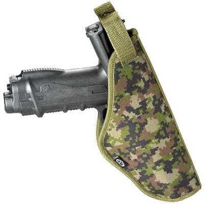 BT 08 Tactical Paintball Holster Molle Woodland Digital Camo