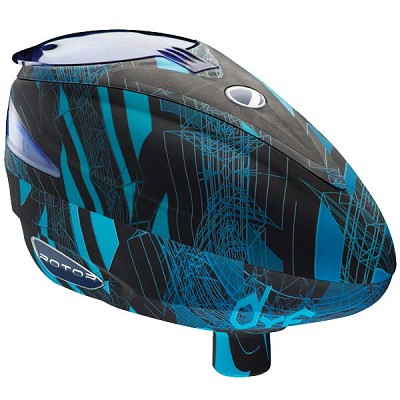 Dye Rotor Paintball Loader 2013 - Cubix Cyan