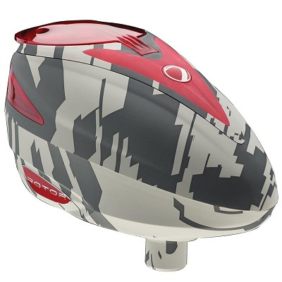 Dye Rotor Paintball Loader 2014 Airstrike Red