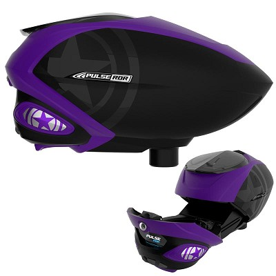 GI Sportz Pulse RDR Paintball Loader with Radar Purple