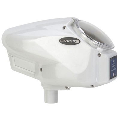 Empire Halo Too Paintball Loader - White SE