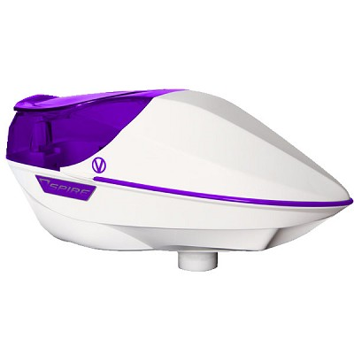 Virtue Spire 200 Paintball Loader White Purple