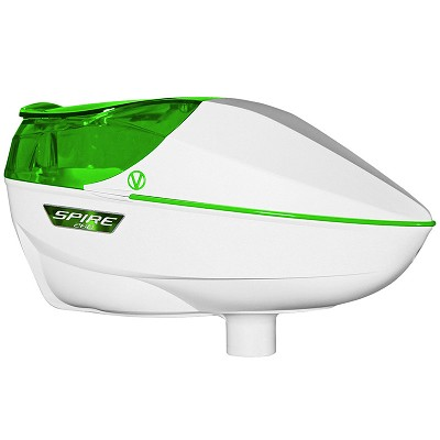 Virtue Spire 260 Paintball Hopper White Lime