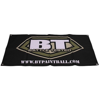 BT Paintball Banner Black