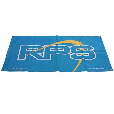 RPS Paintball Banner Blue