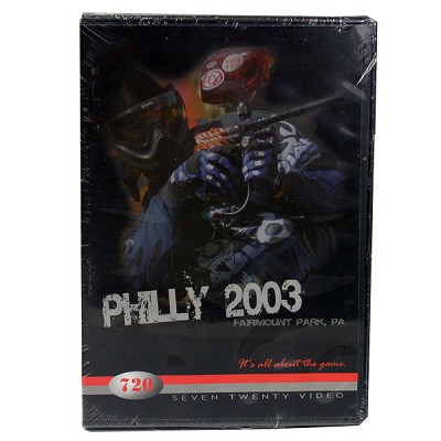 720 Philly Open 2003 Paintball DVD