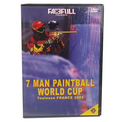 Traumahead Sportz Toulouse France World Cup 2003 Paintball DVD