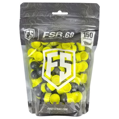First Strike Rounds 150 Count Smoke Yellow Shell Yellow Fill