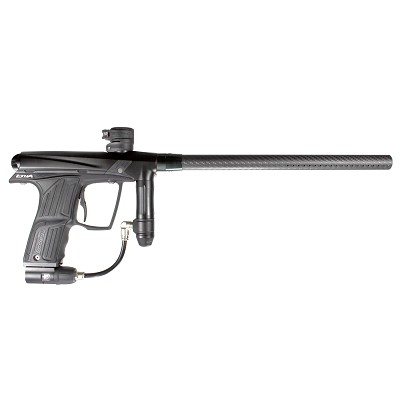 Planet Eclipse Etha Paintball Marker Black w Deadly Wind Carbon Barrel Used