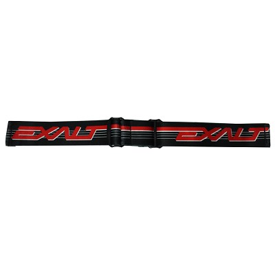 Exalt JT Goggle Strap Retro Black Red