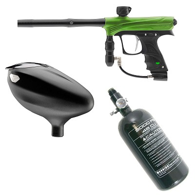 Dye / Proto Rize Paintball Marker Rookie Package Lime Dust