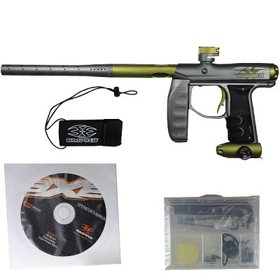 Empire Axe Pro Limited Edition Paintball Marker Grey/Gold