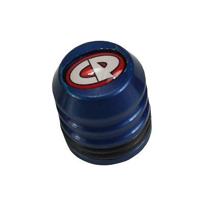 Custom Products Fill Nipple Dust Cap Blue