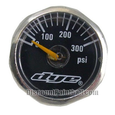 Dye Mini Gauge 0 - 300 psi