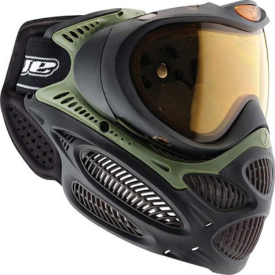 Dye I3 Invision Pro Paintball Goggles Olive