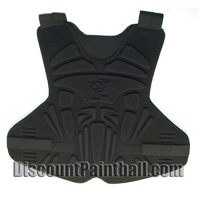 Extreme Rage Chest & Back Protector Black