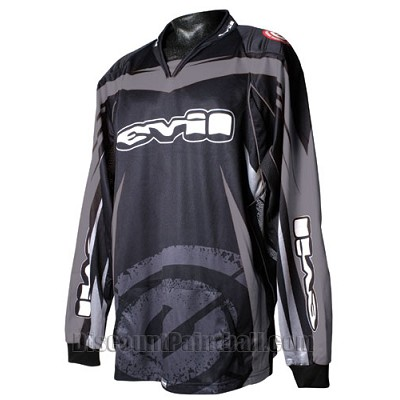 Evil 06 Paintball Jersey Gray XLarge