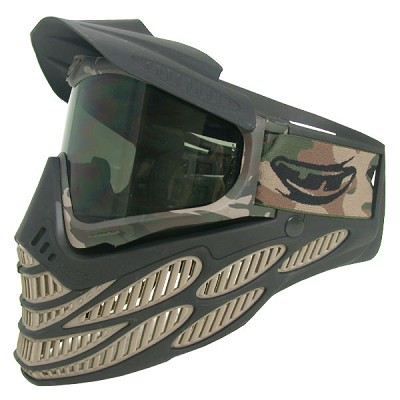 JT Flex 8 Thermal Paintball Goggles Sand-Camo