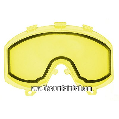 JT Thermal Lens for Elite, nVader, and other Goggles Yellow