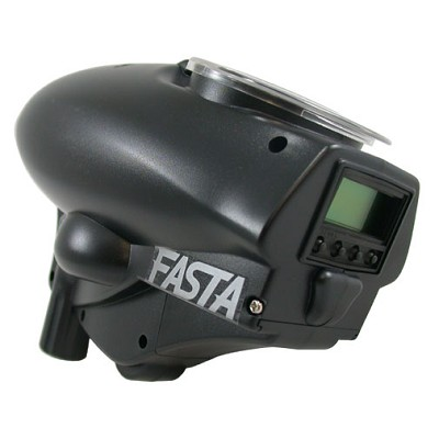 Kingman Spyder Fasta LCD 18v Paintball Loader Black