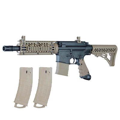 Tippmann TMC Mag Fed Paintball Marker Black/Tan