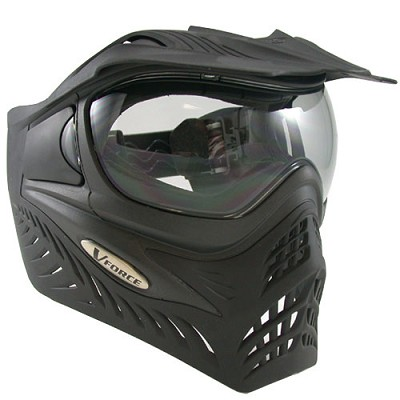 VForce Grill Paintball Mask Thermal Black Shadow