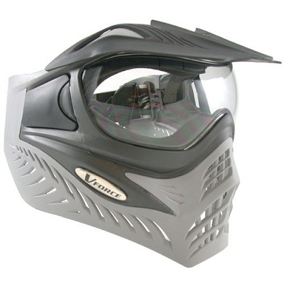 VForce Grill Paintball Mask Thermal Charcoal Shark
